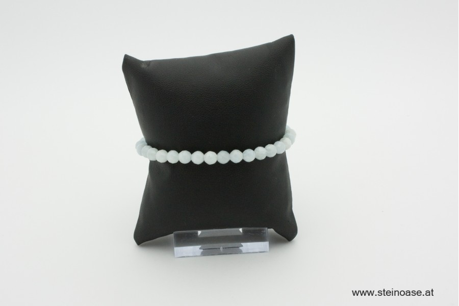 Armband Aquamarin facettiert