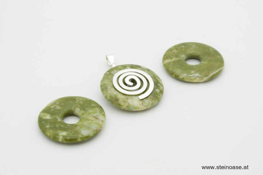 Donut 30mm Nephrit - Jade