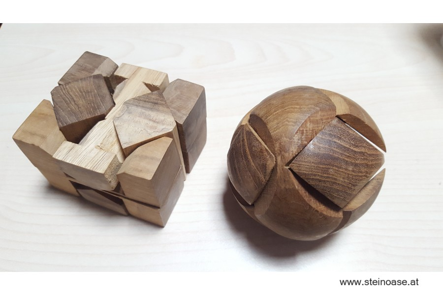 3D Holz-Puzzle 'rund'