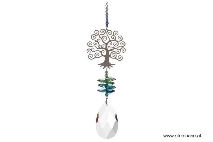 Tree of Life Swarovski Kristallmobile