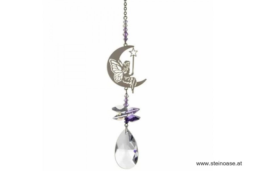 'Fairy with wand' Swarovski Kristallmobile