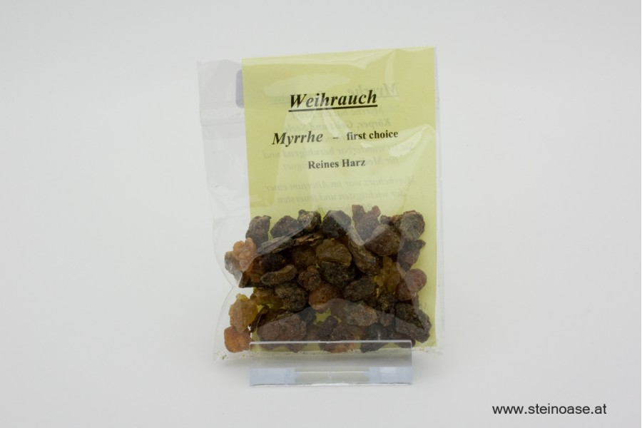 Weihrauch Naturharz - Myrrhe first choice
