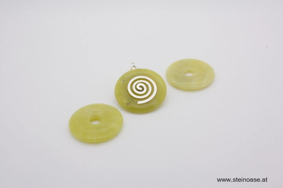 1 Stk. Donut 40mm Nephrit - Jade